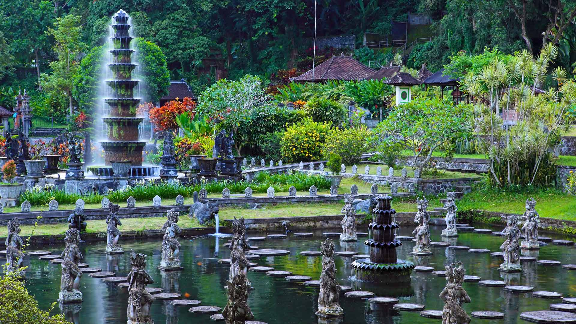 Bali Marina Villas –  island, temples